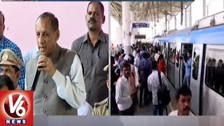 Governor Narasimhan Speech After Launching Of Ameerpet To LB Nagar Metro Line | Hyderabad