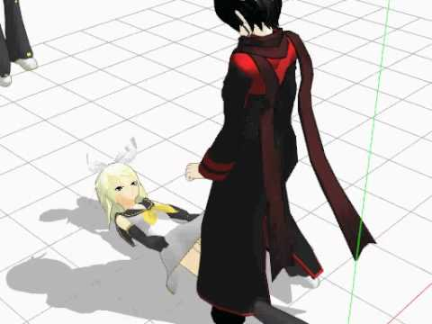 MMD My version of the raep meme~