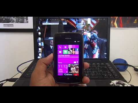 Mostrar Memoria do Lumia 710 no PC & Transferir Arquivos Windows Phone