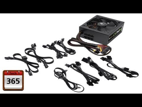 Unboxing of Corsair CX750M Modular Power Supply