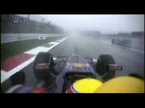 Webber vomiting in formula 1