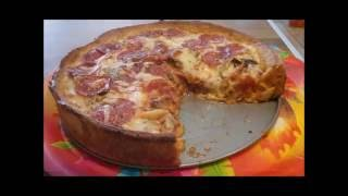 Simple Life....Deep Dish Pizza ,, made simple