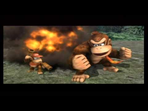 Super Smash Bros. Brawl - Playthrough Part 2 - Sea of Clouds & The Jungle