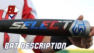2019 Louisville Slugger Select 719 -3 BBCOR Baseball Bat Video/Review
