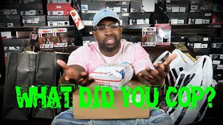 CRAZY PICK UP VLOG & UNBOXING *CLAY YEEZY, PHANTOM 1s, TINKER 3 AIR MAX 1s *