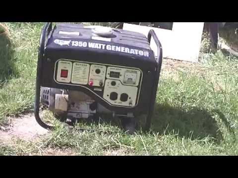 UST 1350 Watt Generator Repair (Part 6 FINAL) . AND TEST!!
