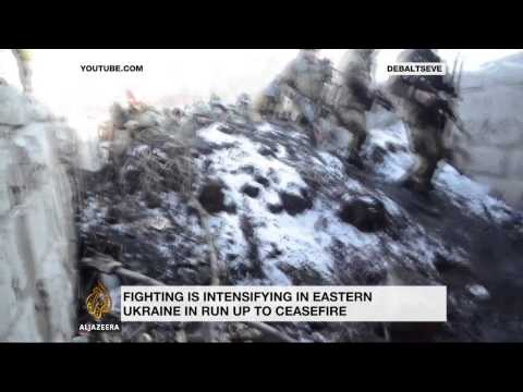 Pro-Russian rebels move into disputed Ukraine town
