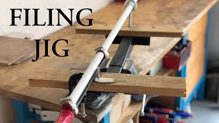 How To Make Filing Jig For Knifemaking