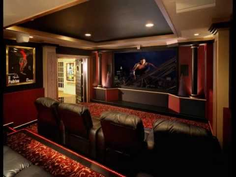 THEATER ROOMS FOR ANY HOUSEHOLD