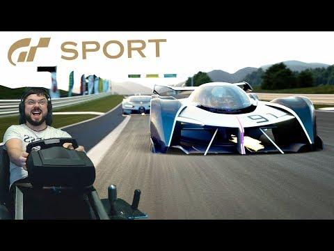 Реактивные испытания на космолётах в Gran Turismo: Sport