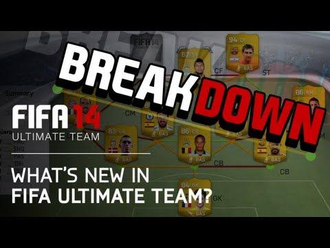 FIFA 14 Ultimate Team Trailer BREAKDOWN