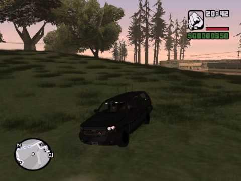 GTA: SA Police Car Mod [Chevy Suburban]