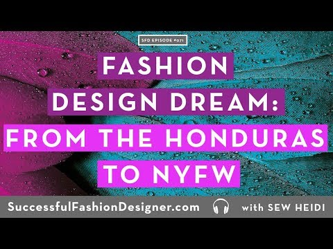 A Fashion Design Dream Come True: From the Honduras to NYFW, Interview with Guillermo Irias