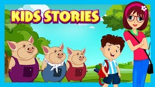 KIDS STORIES - BEST STORIES FOR KIDS    THREE LITTLE PIGS AND MORE - STORYTELLING
