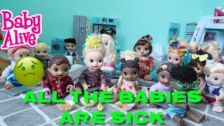 BABY ALIVE Daycare Routine ALL The Babies Are Sick baby alive videos