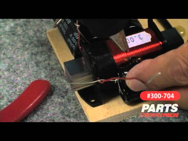 Aviatrix Part 2 Speaker Kit Crossover Assembly Video