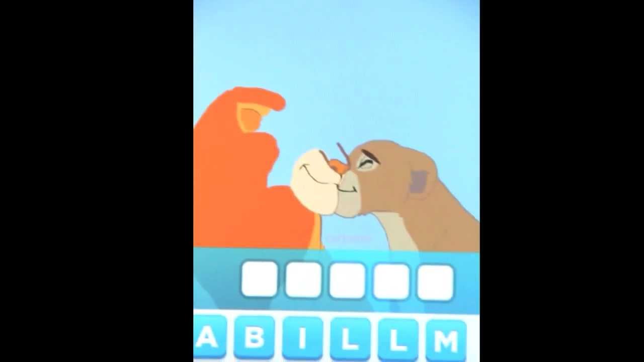 The Lion King Simba And Nala Drawings Lion King's Simba Nala Via