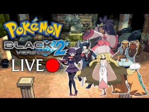 Pokemon Black Version 2 - Live Stream: Part 3