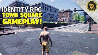 Identity RPG - Town Square Gameplay Walkthrough! NEW UPDATE!