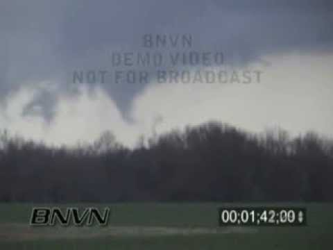2/5/2008 Shelby County, TN Tornado - Super Tuesday Tornado Outbreak Video
