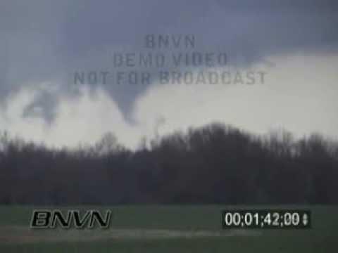 2/5/2008 Shelby County, TN Tornado - Super Tuesday Tornado Outbreak Video