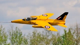 """GIANT 1:3.5 SCALE FOLLAND GNAT T1 BY """"SCALE JET COMPOSITES"""" PILOTED BY DAVE WILSHERE AT JMA - 2017"""