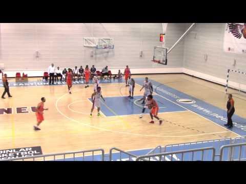 "Jordan Bedford #1, 6'1"" PG, MGA vs  YDU, Cyprus"