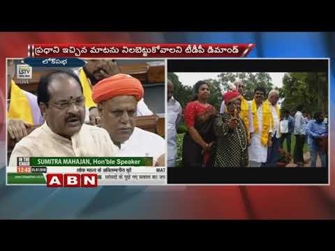 MP Thota Narasimham Questioning Central Govt over AP special status in Telugu | Parliament
