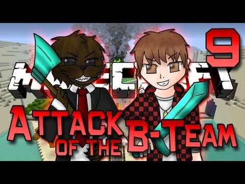Minecraft: Attack of the B-Team Ep. 9 - FUNNY PRANK! (Morph DINO Mod)