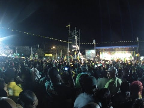 Final Rally Of The 2015 General Elections