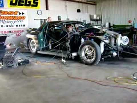 1900 HP twin turbo Outlaw 10.5 car