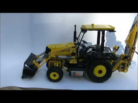 LEGO Technic JCB 3CX Backhoe