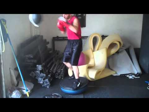 Bosu Ball stability/boxing  training: double end bag Image 1