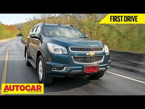 Chevrolet Trailblazer   First Drive Video Review   Autocar India