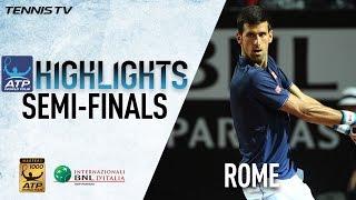 Highlights: Djokovic Zverev Through To Rome 2017 Final
