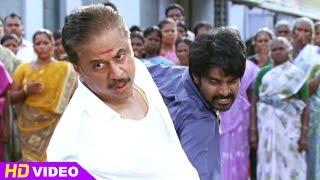 3 - Vanavarayan Vallavarayan Tamil Movie - Ma.Ka.Pa.Anand gets drunk and fights with Jayaprakash