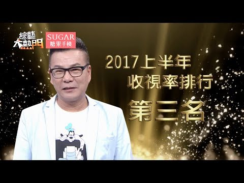 第三名 沈玉琳【2017上半年收視王】綜藝大熱門