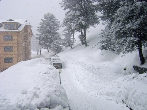Jammu & Kashmir receives fresh snow