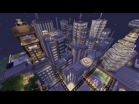 Minecraft Xbox - Galaxy City - World Tour - Part 2