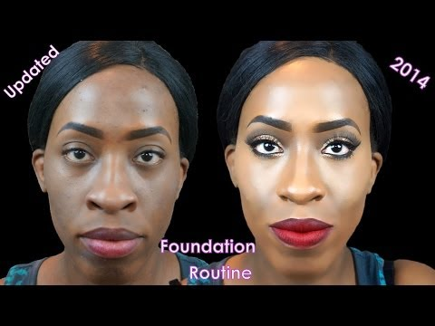 COVER UP ACNE MARKS/SCARS   Foundation Routine MUST SEE!!