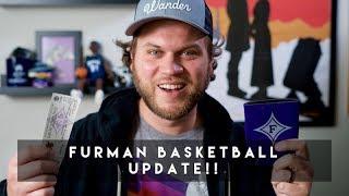 Feeling like a Celebrity - Furman Basketball Update Video