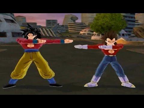 All Transformations & Fusions: Dragon Ball Z Budokai Tenkaichi 3 [1080P]
