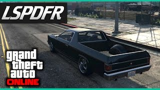 GTA Online E50 - LSPDFR 'I Run On Road' (PS4)