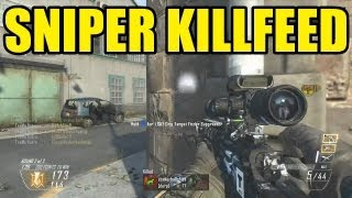 SNIPER KILLFEED | Call of duty Black ops 2 and MW3