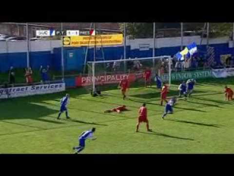 Port Talbot Town FC V Prestatyn (WELSH PREMIER FOOTBALL)