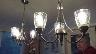 Kohree 6 watt Dimmable Edison style LED bulb first look and test