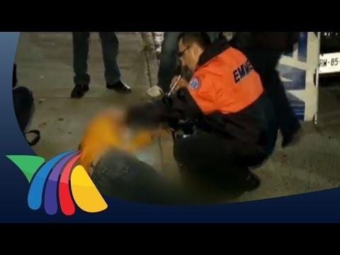 Aficionado es brutalmente golpeado en Monterrey