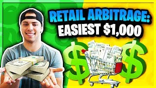 Retail Arbitrage: The Easiest Way To Make $1,000