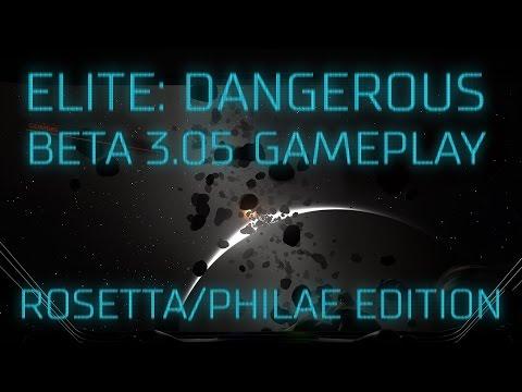 Elite: Dangerous Beta 3.05 - Rosetta/Philae edition (mining & pirates)