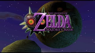 Zelda : Majora's Mask - Last Boss & Ending in 720p with HD Texture Pack